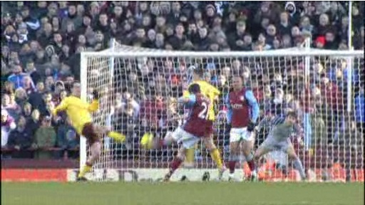 Aston Villa offsides