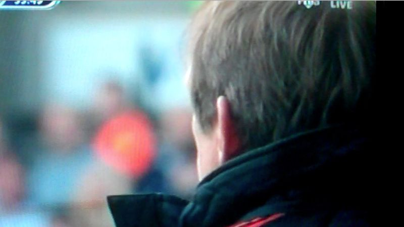 Dalglish 54 min profile back of head