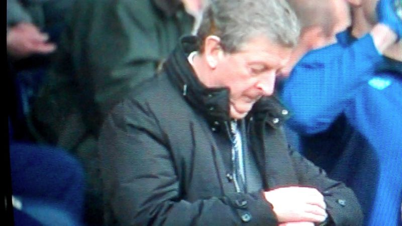 Hodgson 92 min looking at watch