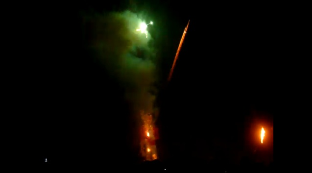 Wayne Rooney Exploding green smoke