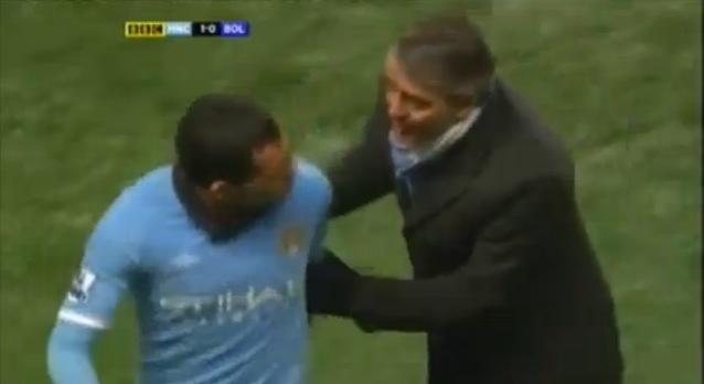 Manchester City Tevez discontent 2