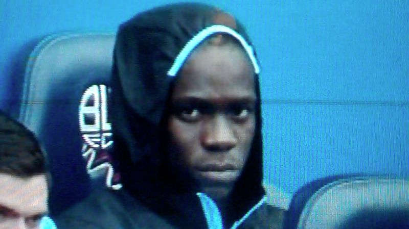 Mario Balotelli disgruntled Manchester City bench
